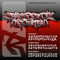 Graffiti Fonts 1.6 CDROM