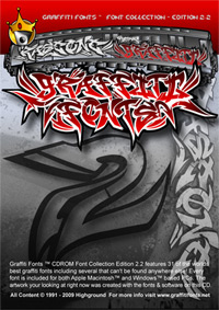 Graffiti Fonts 2