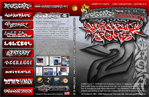 Graffiti Fonts 2.0 CDROM cover