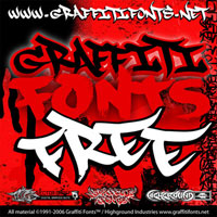 Graffiti Fonts Free - Font Package