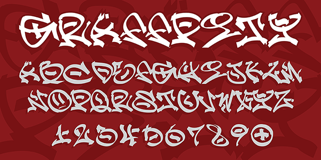 The First Graffiti Fonts