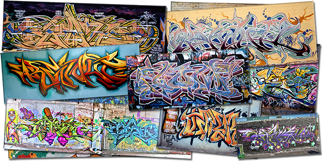 What is a Graffiti Font