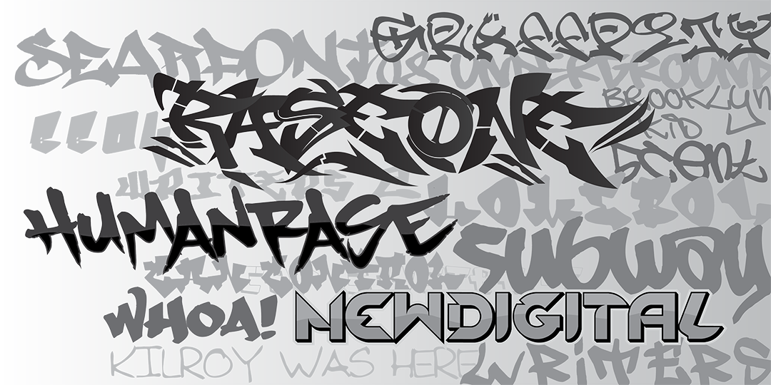 Graffiti Fonts 1