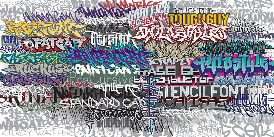 100 Graffiti Fonts