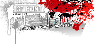 100 Vecor Paint Objects